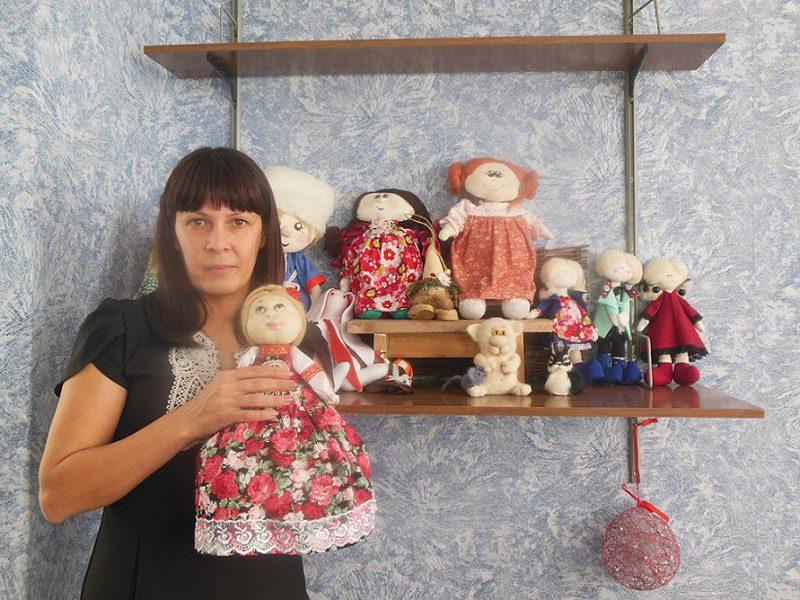 Кукольных дел мастерица