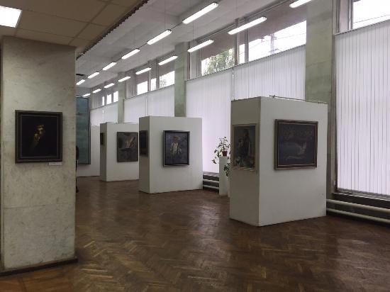 Выставочный зал на Краснознаменской, 6