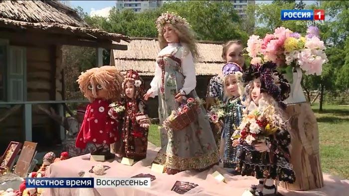 Открытие Царицынского подворья мастеров в телепрограмме «Вести – Волгоград»