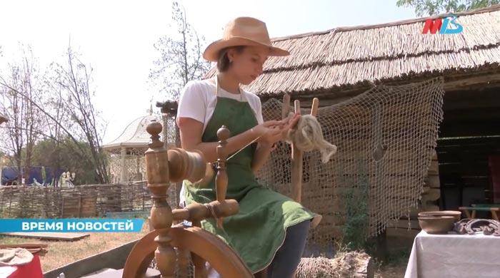 Телесюжет МТВ о празднике ремесел на Царицынском подворье мастеров